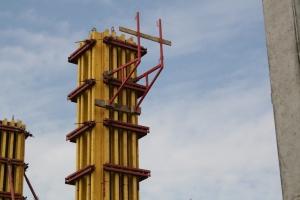 ригельная опалубка колонн