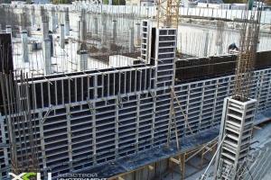 Крупнощитовая опалубка для монолитного строительства