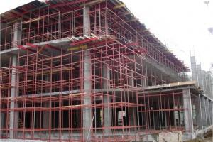 Строительство магазина ИКЕА