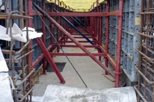 Мелкощитовая опалубка стен и фундаментов