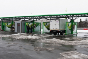 Автомойка самооблуживания «Дизайн Про» установлена на АЗС «ТАТНЕФТЬ» г. Домодедово