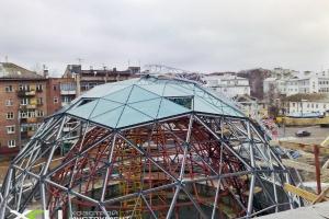 Светопрозрачные конструкции купола