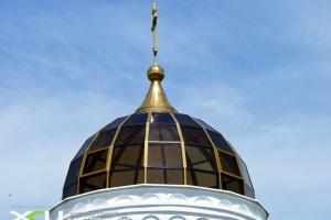Купол церкви светопрозрачный