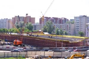 Строительство моста Казань