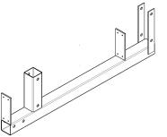 Ригель платформы опалубка