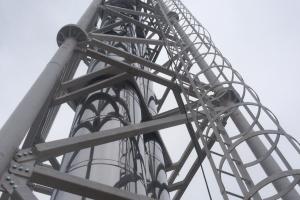 Металлоконструкции для дымоходов