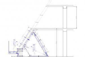 Несущая опалубка для наклонных стен