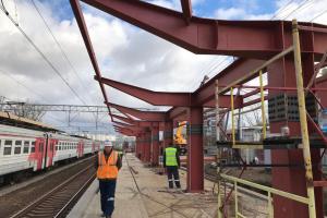 Поставка металлоконструкций железнодорожного навеса